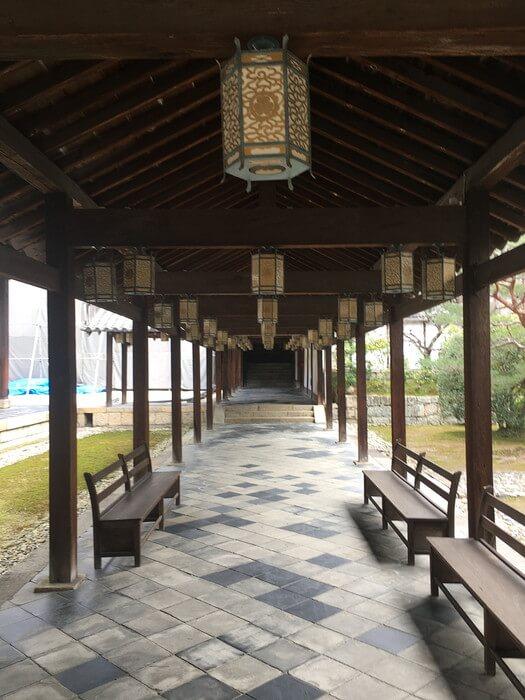 萬福寺廊下