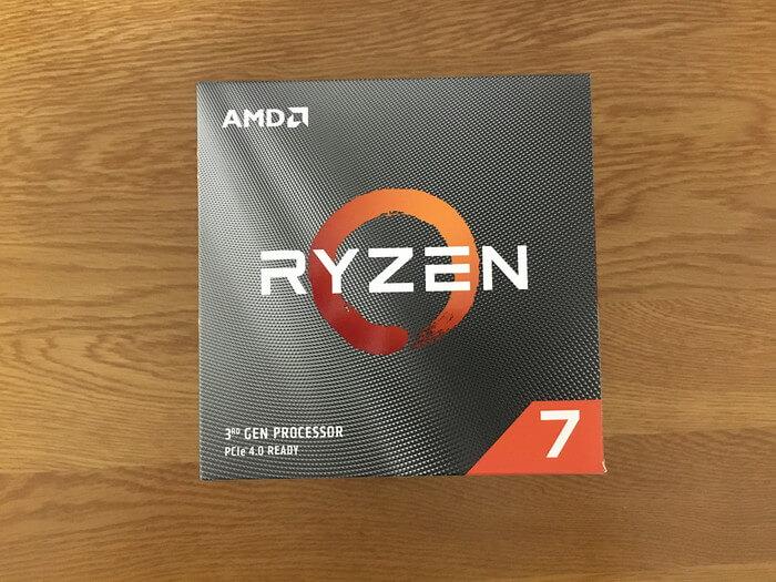Ryzen7 3700X(箱表)