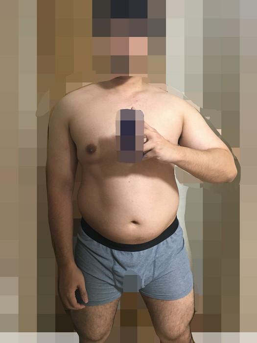 私の現在の身体(2021年1月第1週)